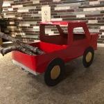 cardboard truck