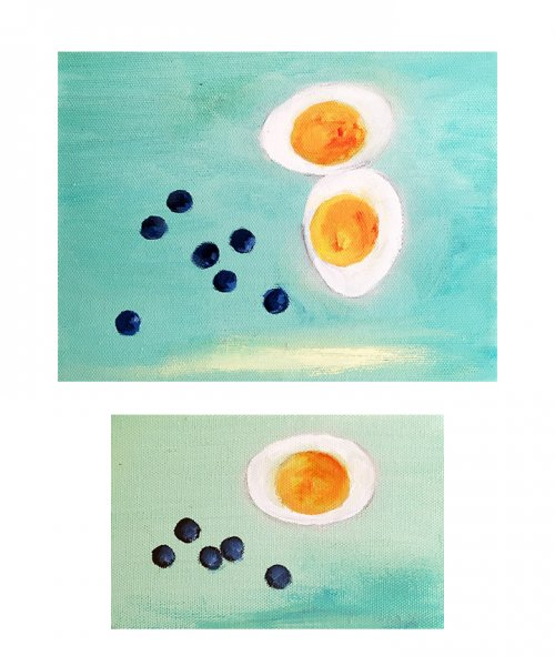 "Ann Lee Fuller, Diet No.1, 6"" x 8"" and, Diet No.2, 4"" x 6"""