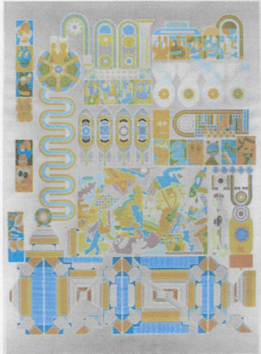 Eduardo Paolozzi (D. Shappard), Who's Afraid of Sugar Pink & Lime Green, Screen Print