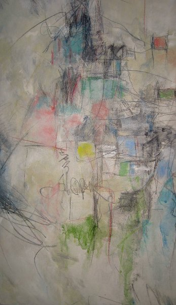Janice DeMarino, Surface Images, Acrylic and Graphite on Canvas