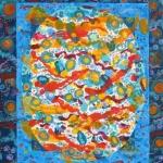 Christine Alexander, World of Color, acrylic on canvas