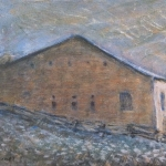 Neil Driscoll, Stone Barn, Painting