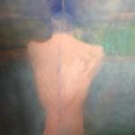 Sabine Koengeter, The Bather, Painting