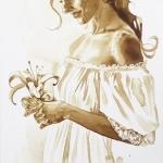 IlonaZabolotna_Bride1_coffeepainting_2019