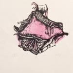 1. Christina Massey, Pink Silkscreen, 2017