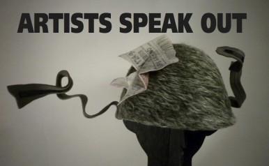 August 2 - September 13 - Artists Speak Out