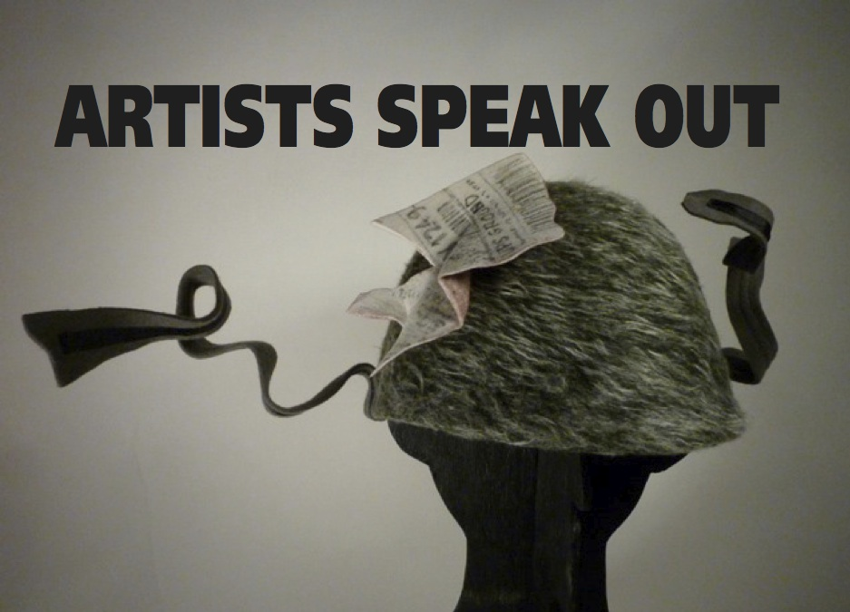 Artists Speak Out Front