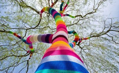 April 26 - Catskill Yarn Bombers Gathering
