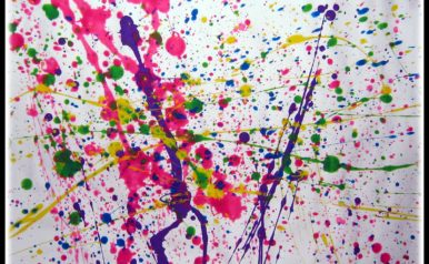 August 2- Art in the Park: Spatter Paint