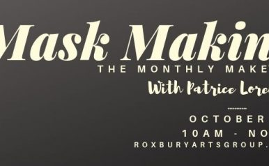 October 19 - The Monthly Make with Patrice Lorenz: Masks