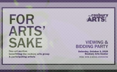 October 3: For Arts' Sake