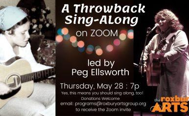 June 4: Throwback Sing-Along with Peg Ellsworth