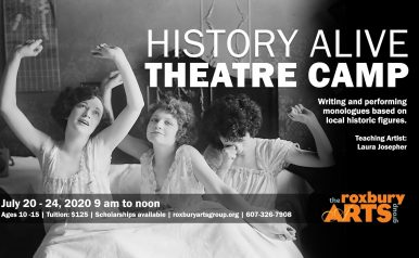 July 20 - 24: History Alive Theatre Camp