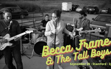 Sept 26 - Becca Frame and The Tall Boys