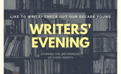 March 16 - Writers' Evening
